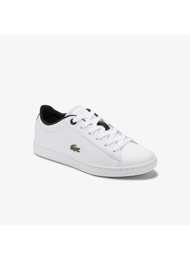 Lacoste Unisex Çocuk Carnaby Evo Sneakers 740SUC0002.147 Beyaz